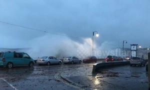 Storm Callum batters Penzance seafront