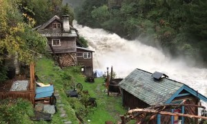 Heritage Watermill Receives Autumn Downpour