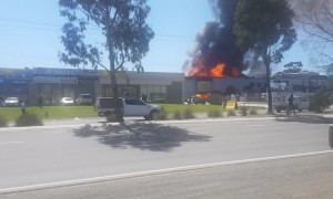 Multiple Gas Explosions During Huge Factory Fire