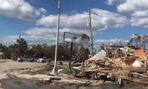 Drive through Mexico Beach shows post-hurricane destruction