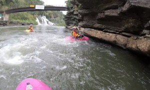 Kayak Cliff Flip