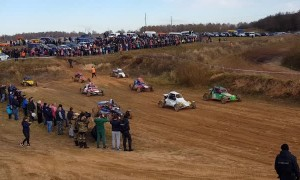 Judges Hit in Belarus Buggy Race