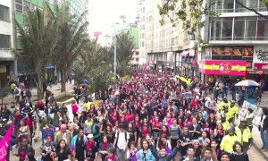Protests continue across Colombia as students and educators demand more resources for public universities