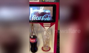 Taste of the future: Coca-Cola vending machine accepts Bitcoin