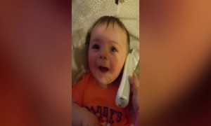 Try not to LOL at this Baby's Giggle!