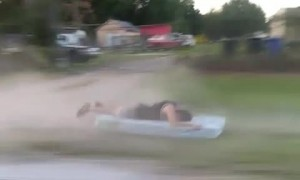Four-Wheeler Mattress Ride