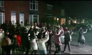 'Thriller' Halloween flashmob takes over Sheffield street