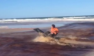 Sand Sled Wipeout