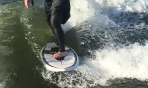 Boat Surfing Grim Reaper