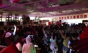 Chinese bookshop throws awesome Halloween party