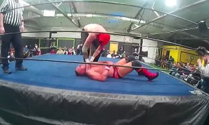 Thunder Pro Wrestling Match Between Violence  and TJ Crawford