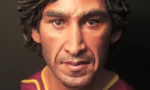 Johnathan Thurston Clay Sculpture Timelapse