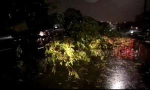 Possible tornado hits Baltimore area causing widespread damage