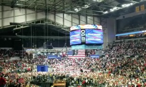 Trump addresses crowd, talks Space Force at Fort Wayne, Indiana rally