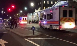 Whitehall on lockdown after 'suspicious package' found