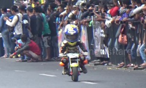 Kids as young as 5 race and crash in adorable mini-Moto GP