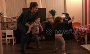 UK boy with cerebral palsy learns to dance ballet with sister