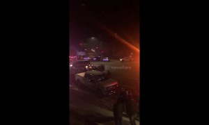 Heavy police presence outside Borderline bar