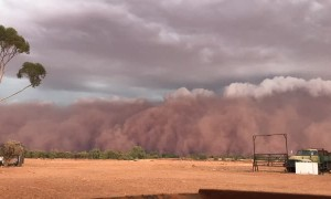 Timelapse of Dust Storm