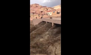 Deadly flash floods hit ancient city of Petra