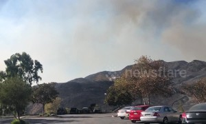 Hills around Pepperdine University charred as Woolsley Fire devastates Malibu