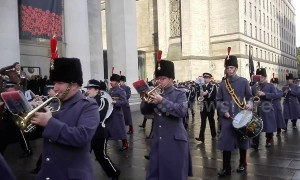 Manchester marks Armistice Day with parade
