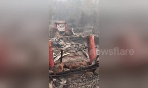 Camp Fire destroys historic 132-year-old covered bridge