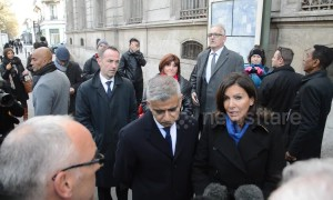 Mayors of London and Paris hold anniversary vigil for Bataclan terror victims