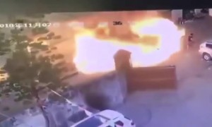 Metalworking shop explosion injures nine