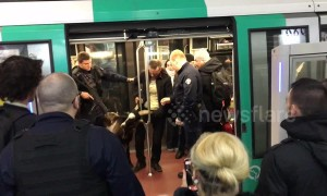 Goat thief caught absconding with stolen animal on the Paris metro