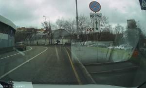 Instant Karma for Impatient Driver