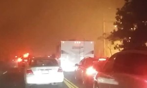 Camp Fire Evacuation Traffic in California