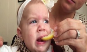 This Baby's Slo-Mo Sour Face will Crack you Up