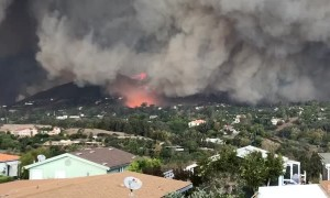 Fires Quickly Tear Through Malibu