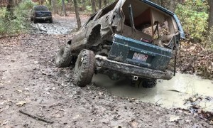 Jeep Vs. Mud Hole