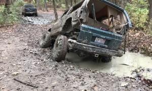 Jeep Vs. Mud Hole