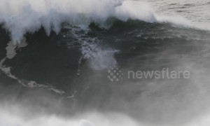 Surfer Andrew Cotton experiences brutal new wipeout