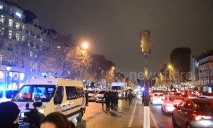 Paramedics block Paris' Champs-Elysees in protest over reforms