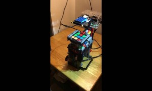 Homemade device solves Rubik's Cube with ease