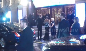 Meghan Markle arrives at Royal Variety Performance
