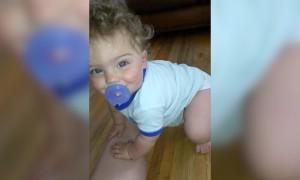 Babies being Surprised is Too Adorable