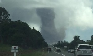 Couple Captures Huge Tornado in New Zealand