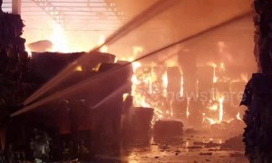 Thailand paper factory blaze lasting 20 hours causes $3m in damages