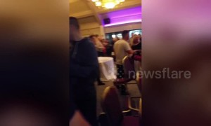 Screaming, chairs hurled as kickboxing event at Ireland hotel descends into chaos