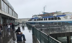 Ferry Crashes into Pier