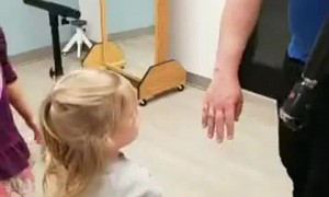 Dad Receives the Gift of a New Bionic Arm