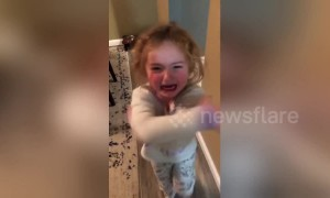 "Adorable five-year-old is jealous of sick sister, asks mom if she can ""give her a fever"""