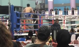 Muay Thai MMA fighter gets knockout punch in just 10 seconds