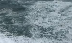 Massive Wave Crashes Into 4th Floor Window