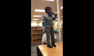 4-year-old's motivational speech about importance of reading